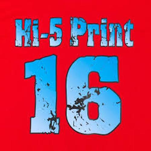 "Hi-5 Print Matte Print and Cut Heat Transfer Material - 29.5""x50yd. Roll"