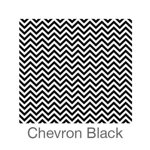 "12""x12"" Patterned HTV - Chevron Black"