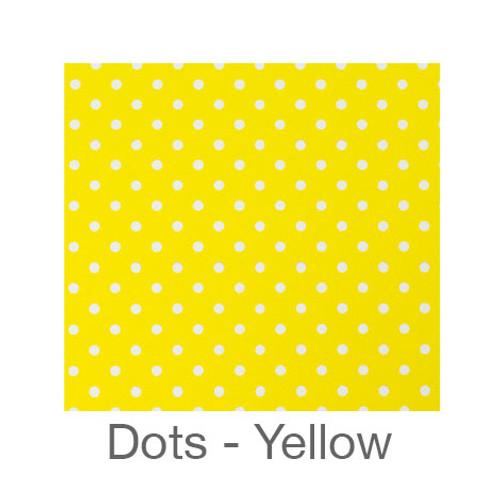 "12""x12"" Patterned HTV - Dots Light Yellow"