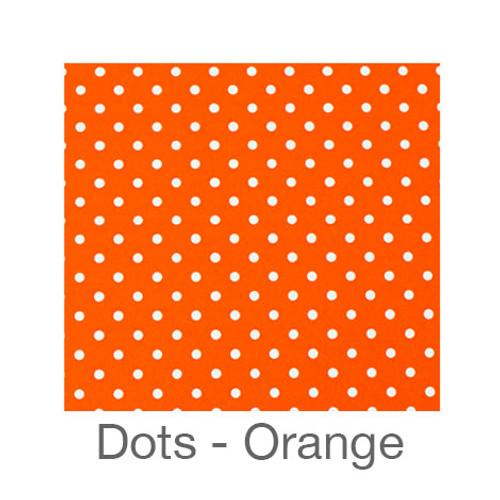 """12""""x12"""" Patterned HTV - Dots Orange"""