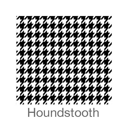"""12""""x12"""" Patterned HTV - Houndstooth"""