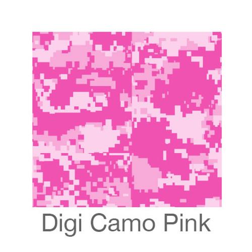 "12""x12"" Patterned HTV - Digi Camo Pink"