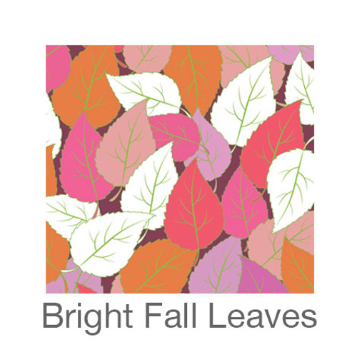 """12""""x12"""" Patterned HTV - Bright Fall Leaves"""