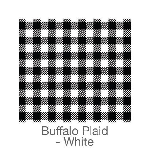 "12""x12"" Patterned HTV - Buffalo Plaid - Black/White"
