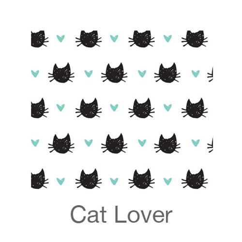 "12""x12"" Patterned HTV - Cat Lover"
