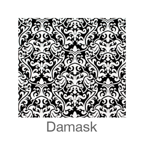 """12""""x12"""" Patterned HTV - Damask"""