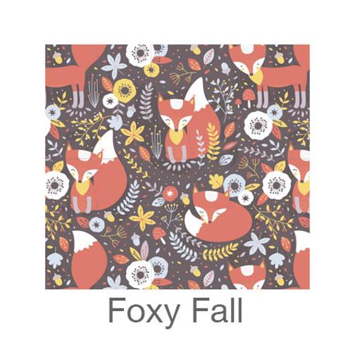 """12""""x12"""" Patterned HTV - Foxy Fall"""