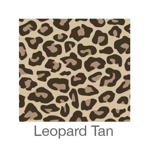 "12""x12"" Patterned HTV - Leopard Tan"