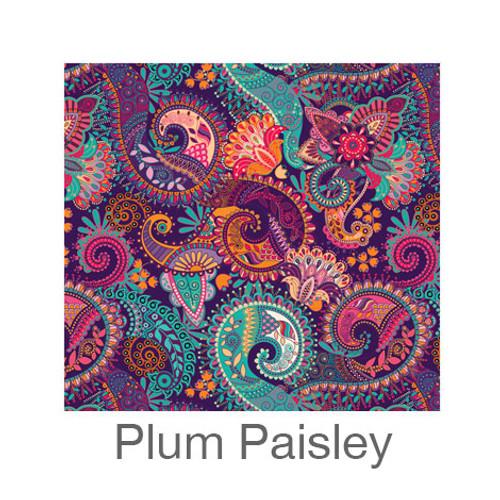 "12""x12"" Patterned HTV - Plum Paisley"