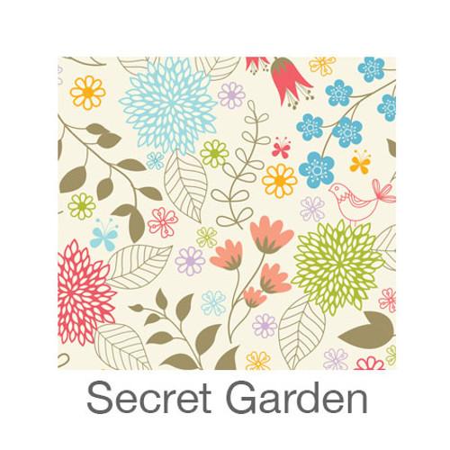 """12""""x12"""" Patterned HTV - Secret Garden"""