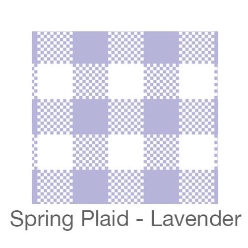 "12""x12"" Patterned HTV - Spring Plaid - Lavender"