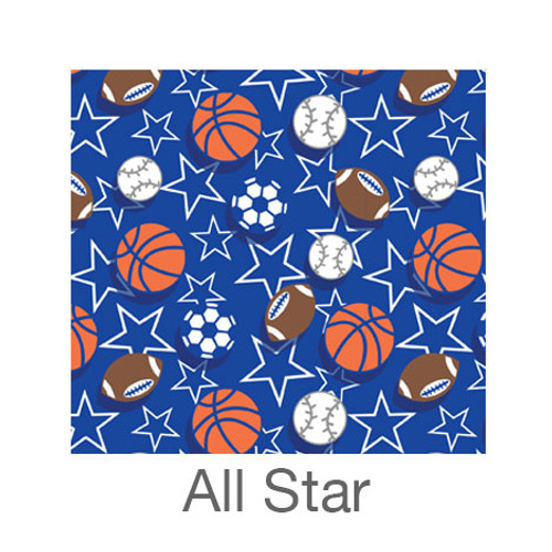 """12""""x12"""" Patterned HTV - All Star"""