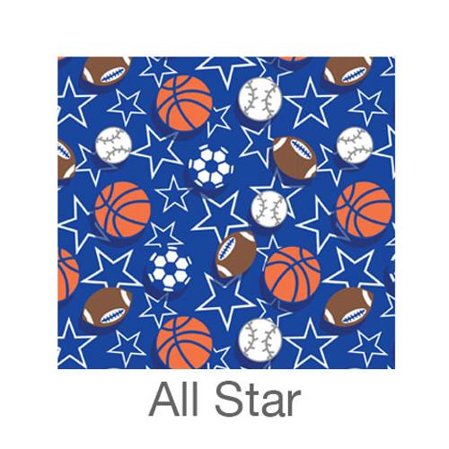 "12""x12"" Permanent Patterned Vinyl - All Star"