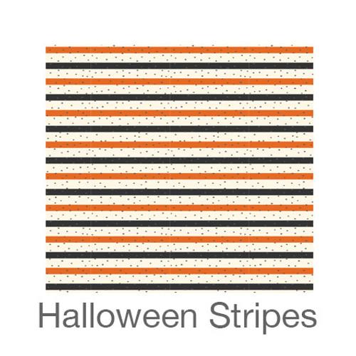 "12""x12"" Patterned HTV - Halloween Stripes"