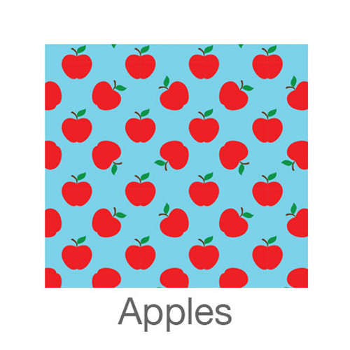 """12""""x12"""" Patterned HTV - Apples"""