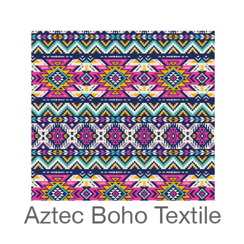 "12""x12"" Patterned HTV - Aztec Boho Textile"