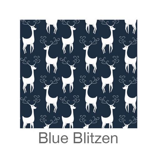 "12""x12"" Patterned HTV - Blue Blitzen"
