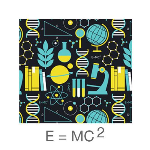 """12""""x12"""" Patterned HTV - E=MC2"""