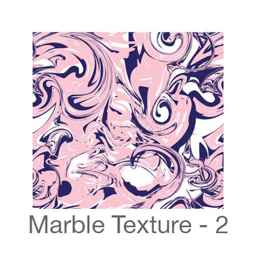 "12""x12"" Permanent Patterned Vinyl - Marble Texture 2"
