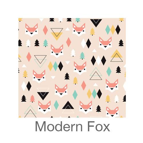 "12""x12"" Permanent Patterned Vinyl - Modern Fox"