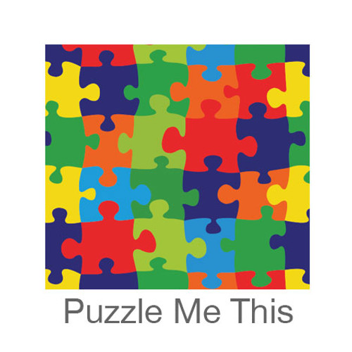 """12""""x12"""" Patterned HTV - Puzzle Me This"""