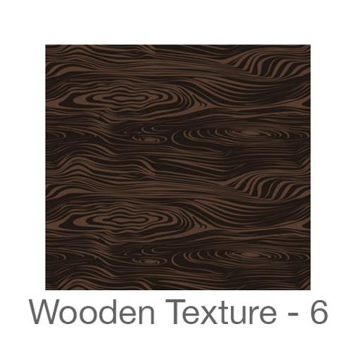 "12""x12"" Permanent Patterned Vinyl - Wooden Texture 6"