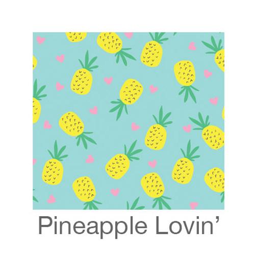 """12""""x12"""" Patterned HTV - Pineapple Lovin'"""