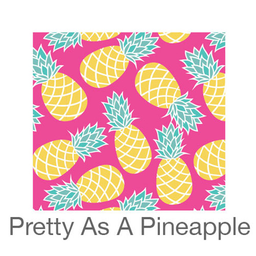 """12""""x12"""" Patterned HTV - Pretty as a Pineapple"""