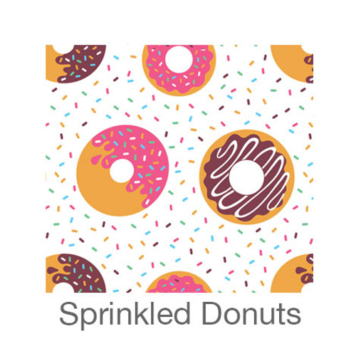"12""x12"" Patterned HTV - Sprinkled Donuts"