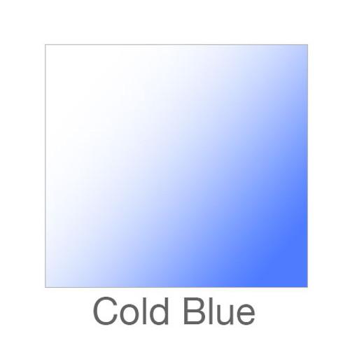 "Color Changing Vinyl - 12""x12"" Sheets - Cold Blue"