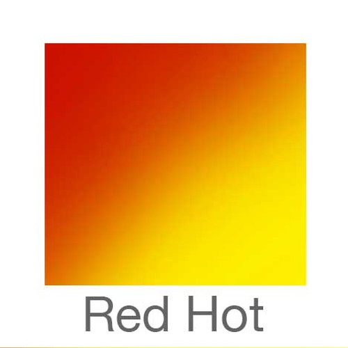"""Color Changing Vinyl - 12""""x12""""  Sheets - Red Hot"""