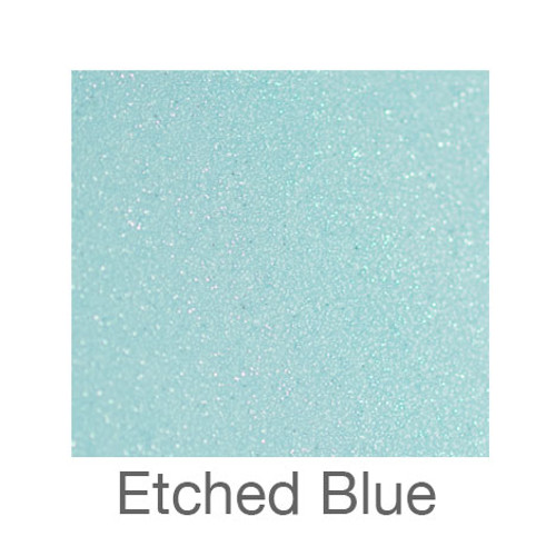 """Etched Glass -12""""x5ft. Roll- Blue"""