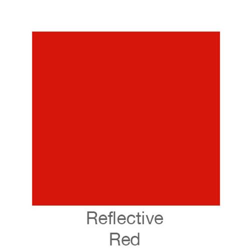 "Reflective Vinyl -12""x12""- Red"