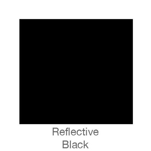 """Reflective Vinyl -12""""x24""""- Black"""