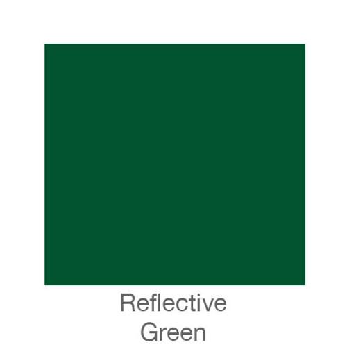 """Reflective Vinyl -12""""x24""""- Green"""
