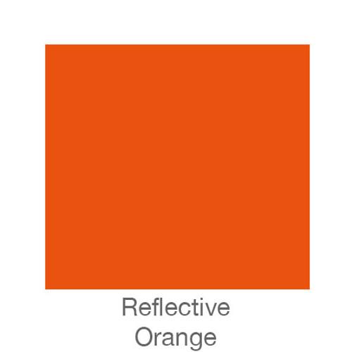 """Reflective Vinyl -12""""x24""""- Orange"""
