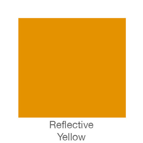 "Reflective Vinyl -12""x24""- Yellow"