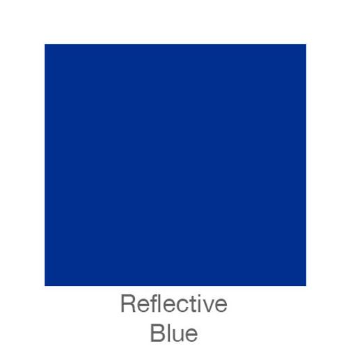 """Reflective Vinyl -12""""x5ft. Roll- Blue"""
