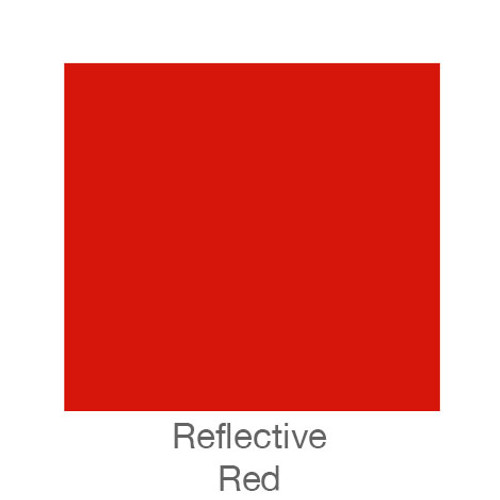"""Reflective Vinyl -12""""x5ft. Roll Red"""