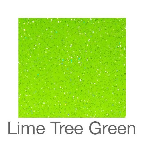 "Adhesive Glitter -12""x12""- Lime Tree Green"