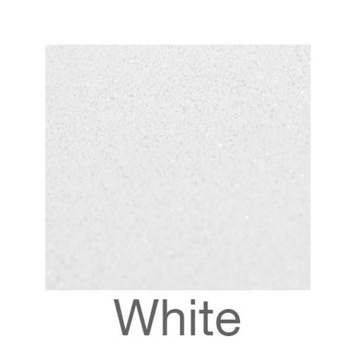 "Adhesive Glitter -12""x12""- White"