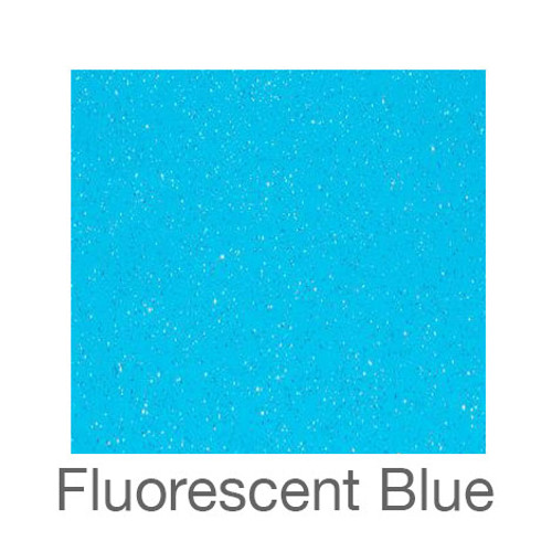 "Adhesive Glitter -12""x24""- Fluorescent Blue"