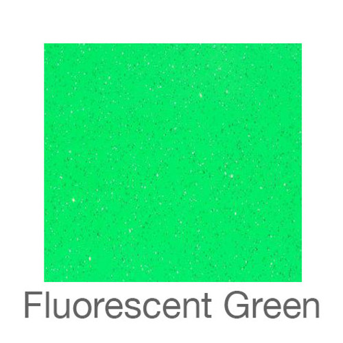 "Adhesive Glitter -12""x12""- Fluorescent Green"
