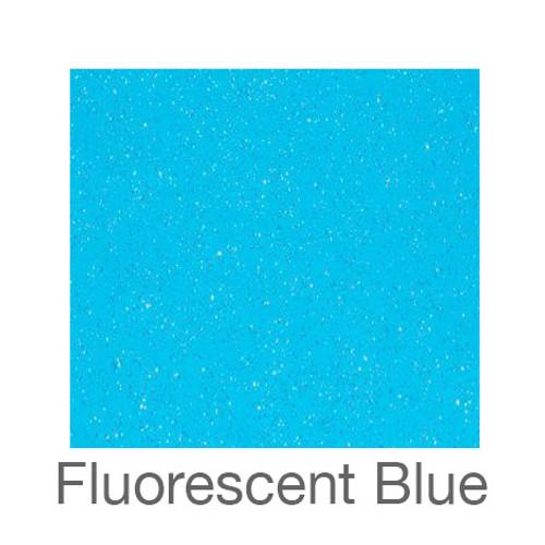 "Adhesive Glitter -12""x5ft. Roll- Fluorescent Blue"