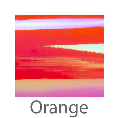"Holographic Opal -12""X12""- Orange"