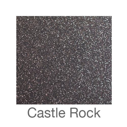 "Glitter Adhesive Vinyl-12""x12""-Castle Rock"