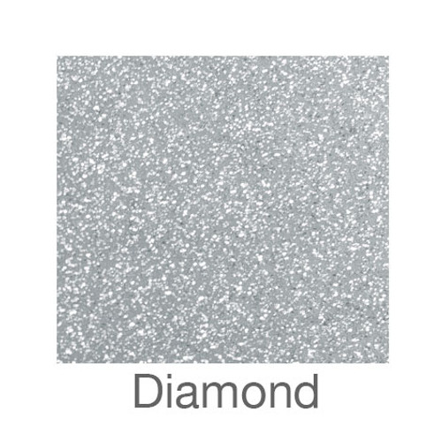 "Glitter Adhesive Vinyl-12""x12""-Diamond"