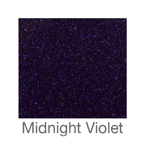 "Glitter Adhesive Vinyl-12""x12""-Midnight Violet"