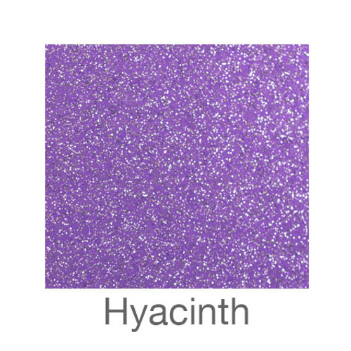 "Glitter Adhesive Vinyl-12""x24""- Hyacinth"