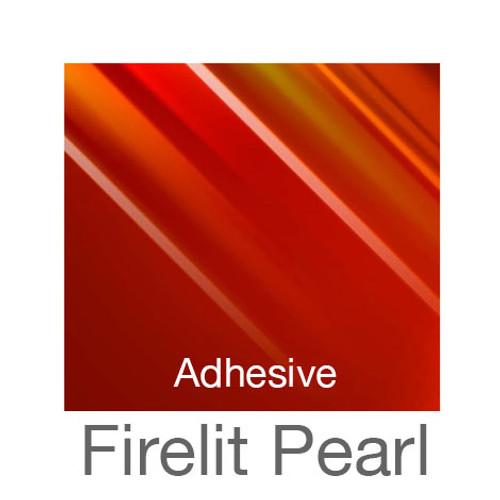 "Holographic Adhesive -12""x20""- Firelit Pearl"